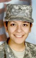 Army Pfc. Adriana Alvarez  Died February 10, 2010 Serving During Operation Iraqi Freedom  20, of San Benito, Texas; assigned to the 504th Military Police Battalion, 42nd Military Police Brigade, Joint Base Lewis-McChord, Wash.; died Feb. 10 in Baghdad, of injuries sustained while supporting combat operations.