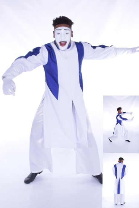Rejoice Dance Ministry Mime Wear 2016 www.rejoicedanceministry.org LD-958 Anointed Worshipper Mime Robe