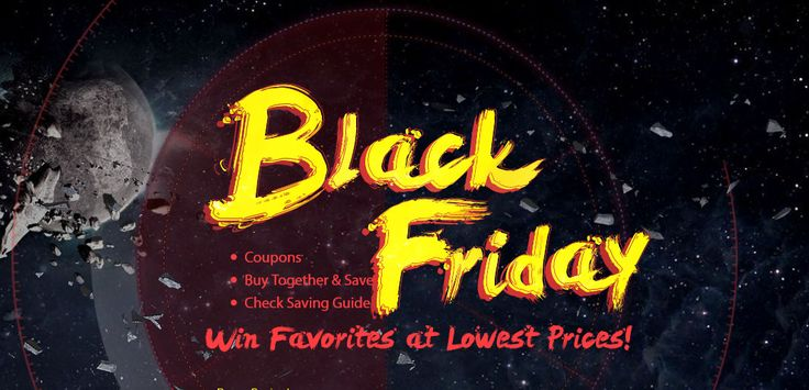 Black Friday Sale, from Gearbest