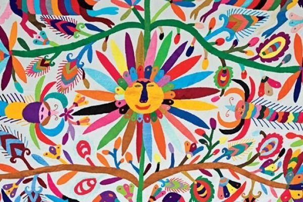 Tenango, una explosión de colores en bordados en Hidalgo