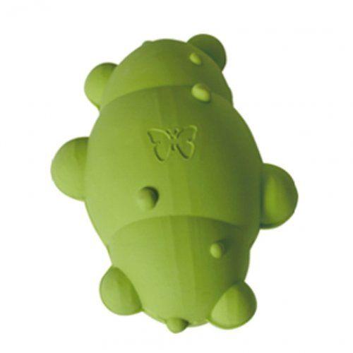 Aus der Kategorie Apportierspielzeug  gibt es, zum Preis von EUR 14,90  Der Rubb'n'Float Kegel ist das perfekte Spielzeug für Hunde, die gerne schwimmen und apportieren. Das Spielzeug kann schwimmen und ist durch seine Form leicht zu transportieren. Wie jedes Hundespielzeug der Rubb'n'Roll Serie von Martin Serie besteht der Kegel aus 100% natürlichem Kautschuk - schadstofffrei und biologisch abbaubar. Im Fall des Verschluckens wird der Kautschuk vollständig durch die Magensäure zersetzt - es…