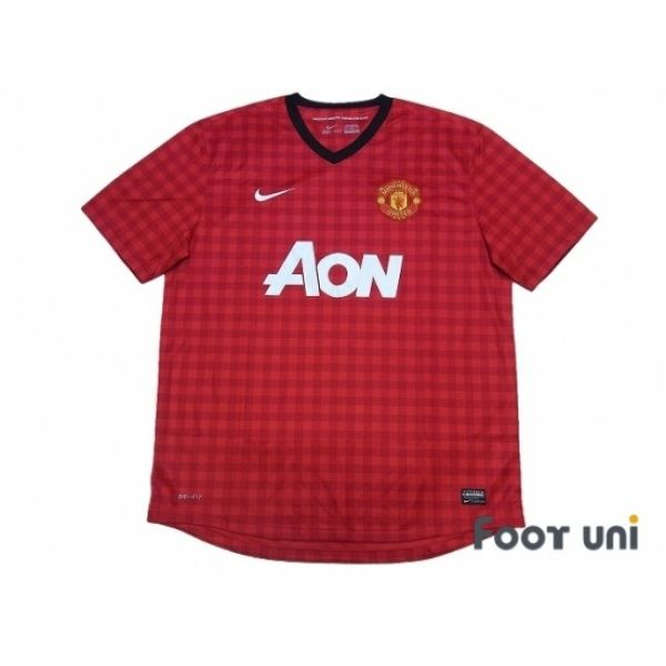 Photo1: Manchester United 2012-2013 Home Shirt #nike - Football Shirts,Soccer Jerseys,Vintage Classic Retro - Online Store From Footuni Japan