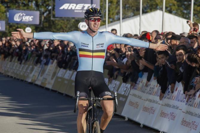 Toon Aerts wins the 2016 European Cyclo-cross Championship