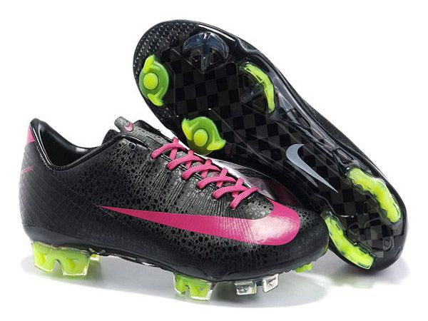chaussure de football nike mercurial vapor superfly iii firm ground pour homme noir rose nike