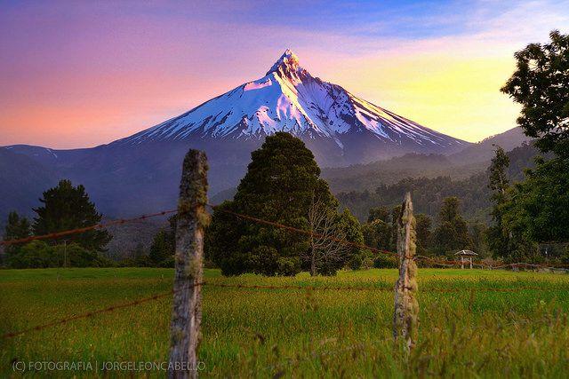 Volcan Puntiagudo - Rupanco (Patagonia - Chile)