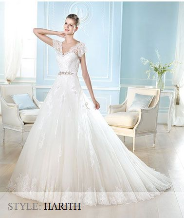 San Patrick Wedding Gown - 2014 Costura Collection - Harith
