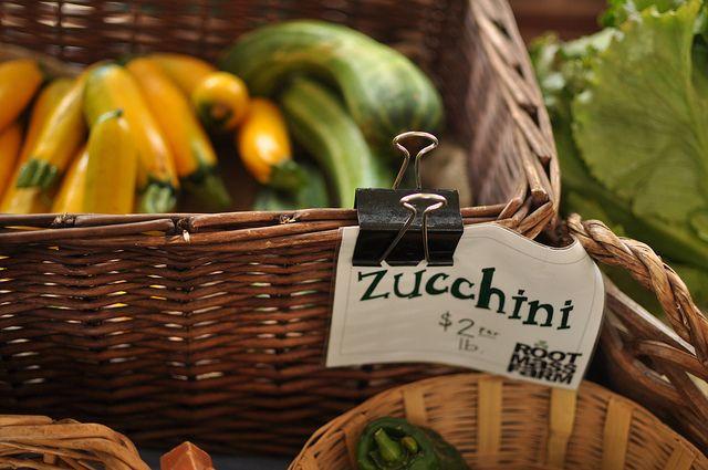 zucchini at Root Mass Farm stand by Marisa   Food in Jars, via Flickr 6 ways to preserve zucchinni