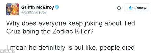 Ted Cruz finds himself the butt of jokes because of Zodiac Killer ...