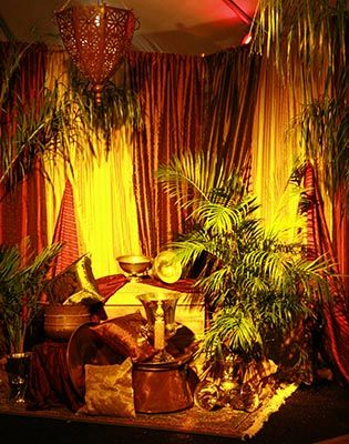 Desert oasis party decor international theme party for International theme decor