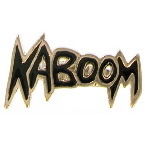 Enameled Kaboom Ring, Adjustable In Black with Silver Finish GirlPROPS. $1.99. Save 60% Off!
