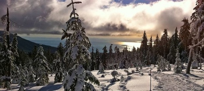 Dakota Ridge Snowshoe Tour with Talaysay Tours! - Come explore a true winter wonderland!  Dakota Ridge and Tetrehedron mountain range offers  world class cross country ski trails, (classic and skate) and snowshoe trails through old growth forests and fantastic panoramic views of Georgia Strait, Vancouver Island, Vancouver, Howe Sound and the North Shore mountains.  See it for yourself on a guided tour with Talaysay Tours and bring a friend to share the experience with you.