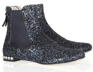 miu-miu-glitter-boot: Miu Miu Glitter Boots