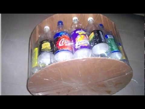 Tutorial Plan Crecer: Cómo hacer un Puff con botellas plásticas - YouTube