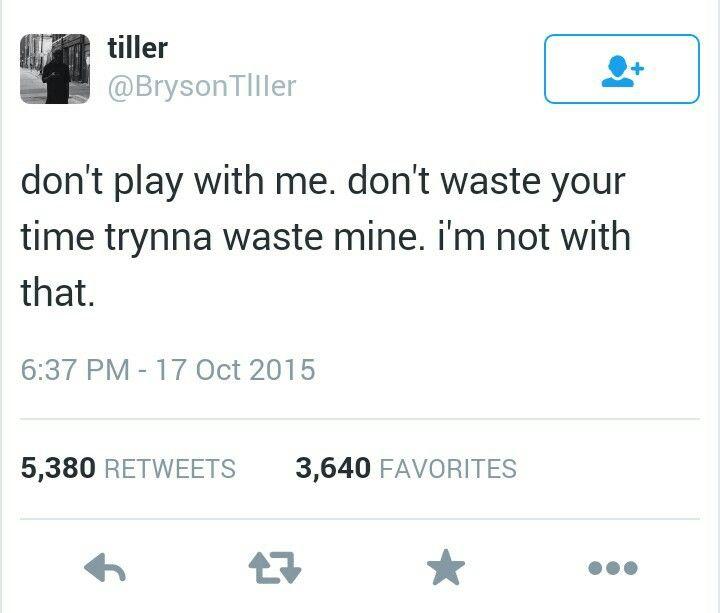 Bryson Tiller Quotes Twitter