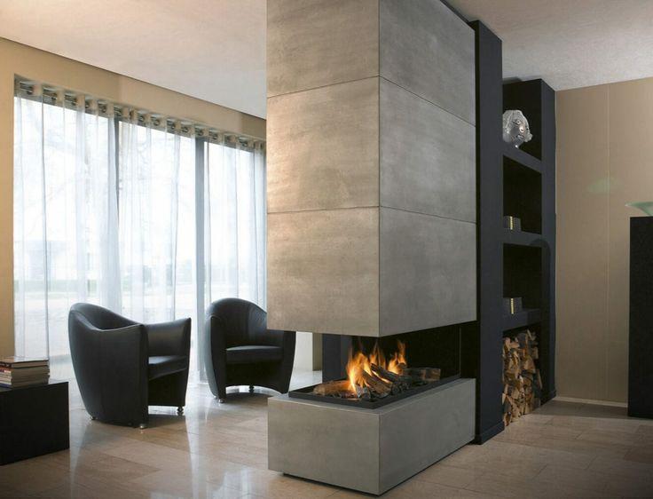 25+ best ideas about kamin modern on pinterest | kaminofen modern ... - Wohnzimmer Design Mit Kamin