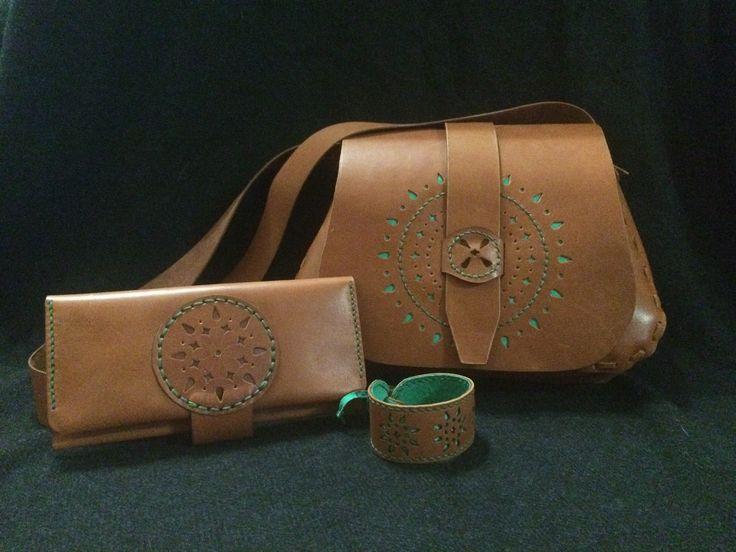Leather, handmade