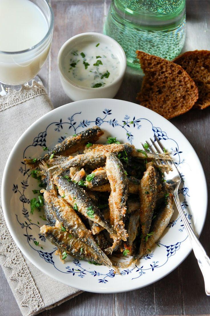 Paistetut muikut / Fried vendace