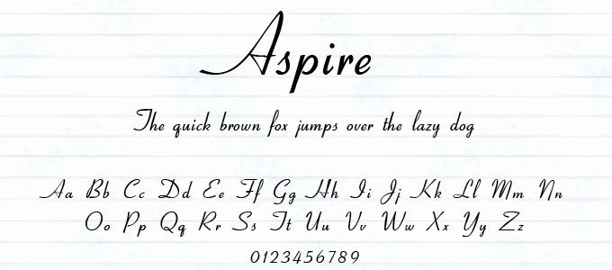 different handwriting styles in english pdf