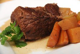 You don't have to buy beef tenderloin to enjoy succulent, low-fat, flavorful beef. Slow-cooking methods tenderize less expensive beef cuts. The next time you're preparing a pot roast for your friends or family, purchase an economical chuck shoulder cut and rest assured that your Crock-Pot will cook the meat so tender that you can cut it with a...