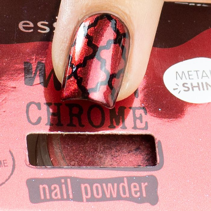 15++ Melted chrome essence nail powder inspirations