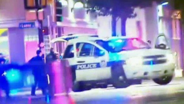 FOX 4:DEVELOPINGAt least two police officers were shot Thursday night in downtown Dallas during a protest over the recent fatal shootings of African Americans by police. Fox News' Dallas affiliate....My Dear Lord!!! Stop the Insanity ¡!!!