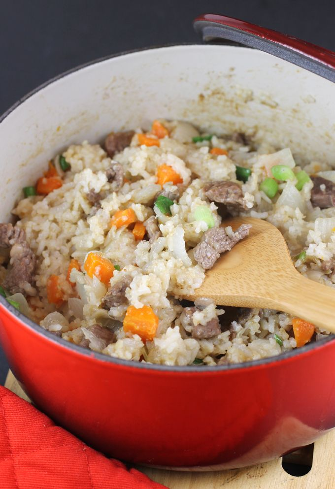 CHINESE RICE AND LAMB CASSEROLE Simple and homespun