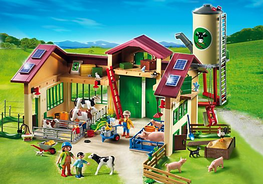 Barn with Silo - PM USA PLAYMOBIL® USA