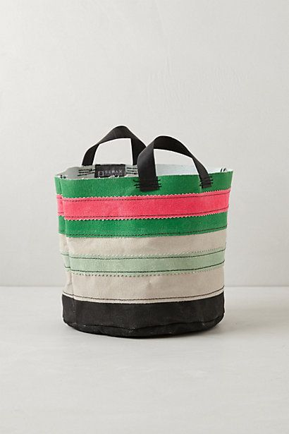 Canvas Bucket: Canvas Buckets, Gardens Can, Adorable Totes, Pots Totes, All Canvas, Plastic Container, Anthropologie Com, Totes Pots, Anthropologiecom Anthropology