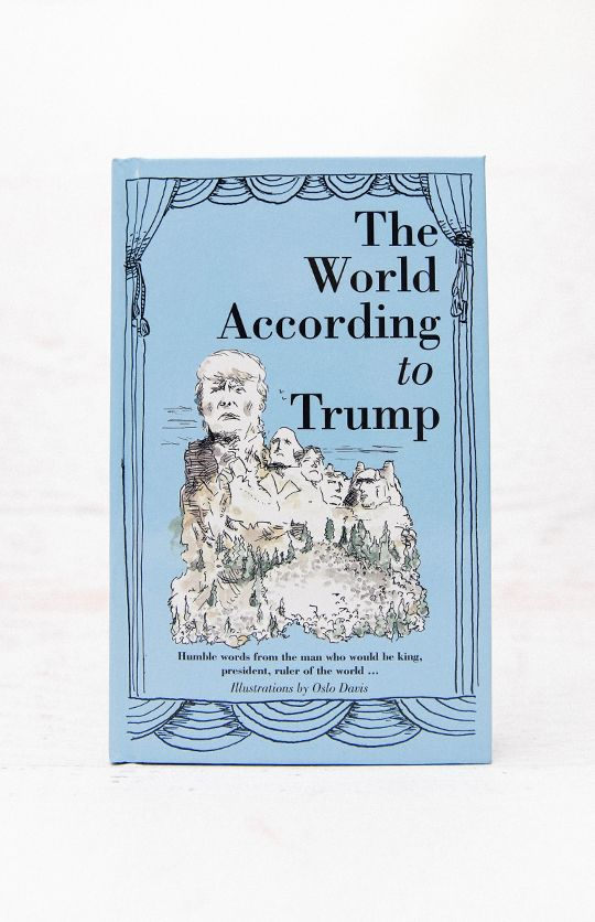 The World According To Trump Book - Hardback from peppermayo.com