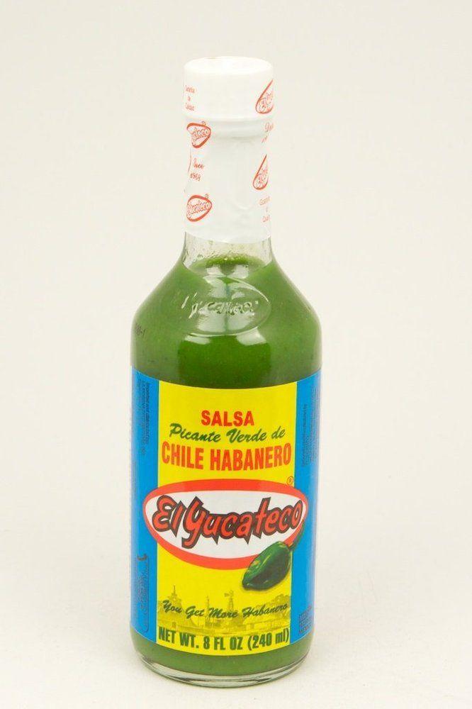 El Yucateco Hot Green Sauce
