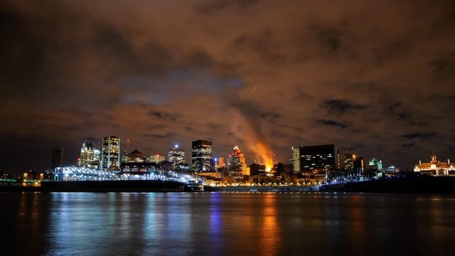 Montreal Time-Lapse Video By E Kital Depicts City On Fire