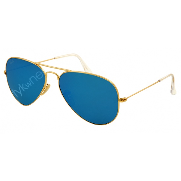 Ray-Ban Sonnenbrille Aviator Large Metal, Uv400, matt gold