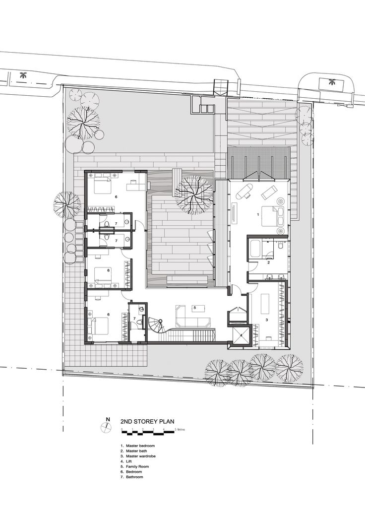 Image 17 of 22 from gallery of The Courtyard House / AR43 Architects. Plan