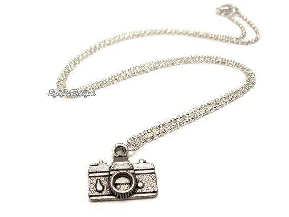 Camera Necklace  funny jewellery quirky jewelry by Szeya on Etsy, $12.00