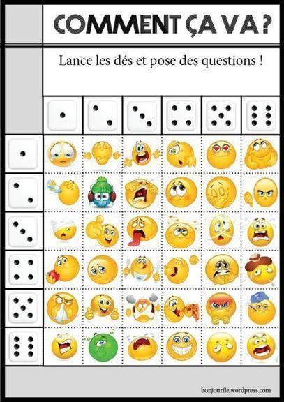 Jeux avec des dés | Grade 3 French Immersion | Scoop.it
