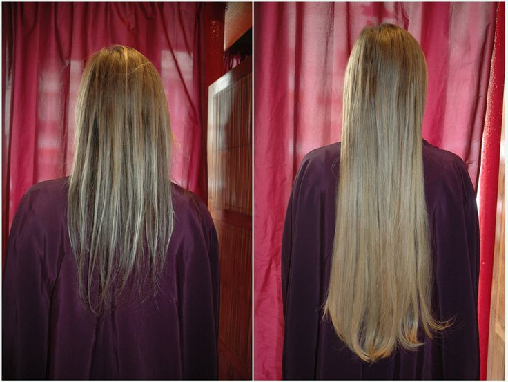 #extensions #cheveux great lengths. Avant  après very long #hair #extensions. Before and after