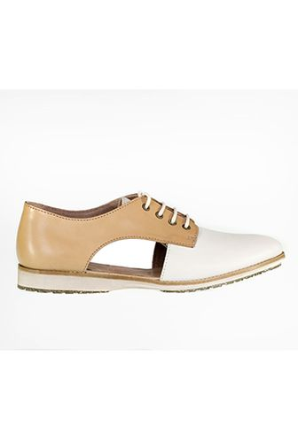 Rollie White Camel Sidecut Shoe – Compleat | Lee James