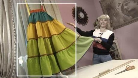Крестьянская юбка