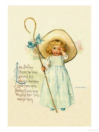 Little Bo Peep by Maud Humphrey