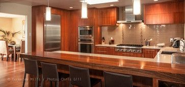 Mozambique Kitchen - contemporary - kitchen cabinets - san francisco - Berkeley Mills