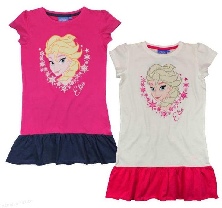 Pentru fetitele care adora desenele animate Frozen, le-am pregatit rochite speciale cu personajul Elsa! Rochie sport Frozen Elsa 3-8 ani, model tip maiou, sport, prevazuta cu volan la baza. Pret:45.00lei http://hainute-fetite.ro/produs/rochie-sport-frozen-elsa/