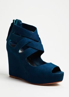 Blue suede shoes!  Love these!!!