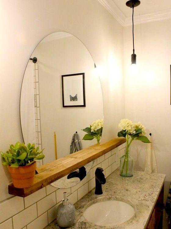 Décor de salle de bains de bricolage Idées qui peuvent être faites avec des articles bon marché Dollar Stores! Celles-ci …