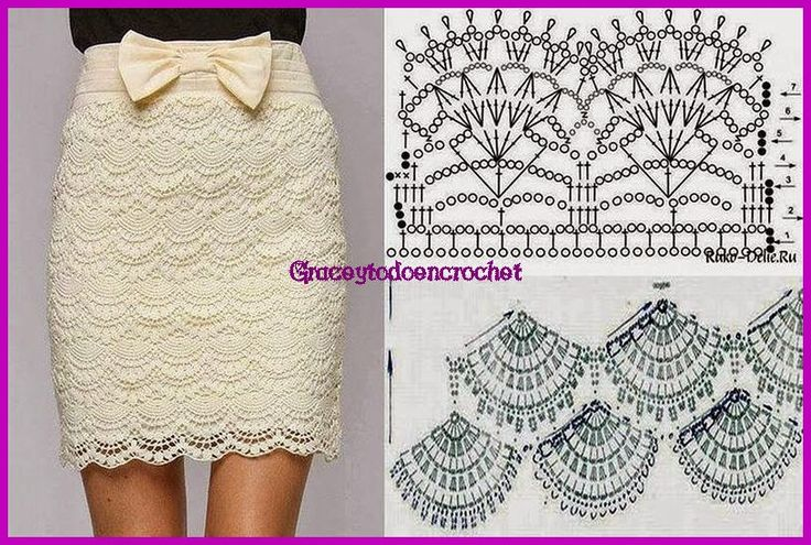 Pretty skirt with graphics...Linda falda con gráficos!