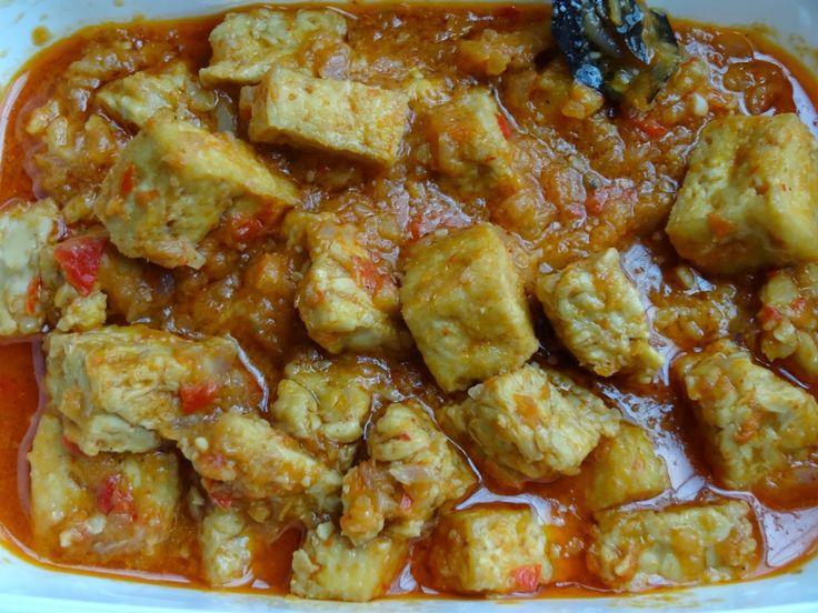 Indonesische Recepten: Sambal goreng van tahu en tempé