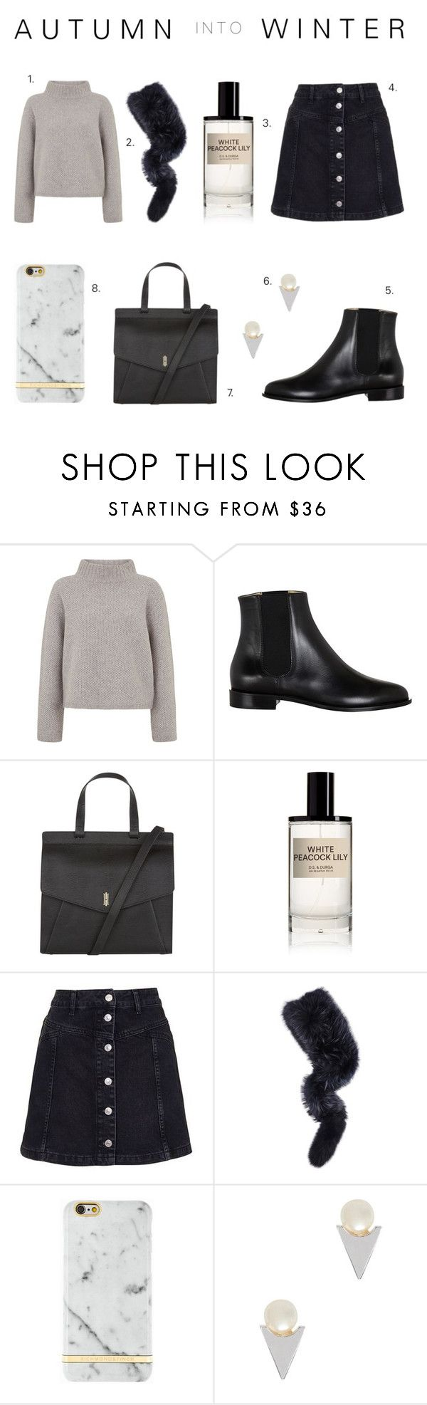 """Autumn to Winter - Chelsea Boots"" by rachaelselina ❤ liked on Polyvore featuring Hobbs, D.S. & DURGA, Topshop, Charlotte Simone, Richmond & Finch, John & Pearl and chelseaboots"