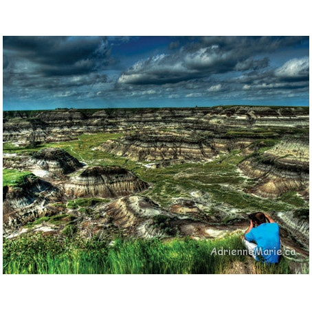 Horseshoe Canyon at Drumheller, AB. An incredible place for dinosaur and photographer finds.