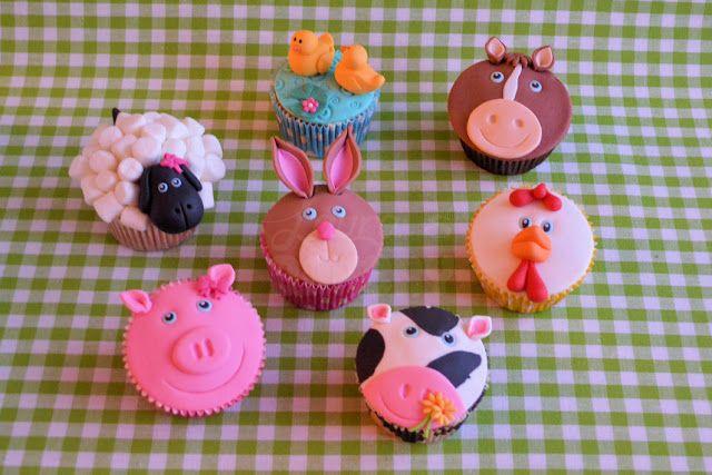 Op de boerderij: Konijnen cupcakes - Laura's Bakery