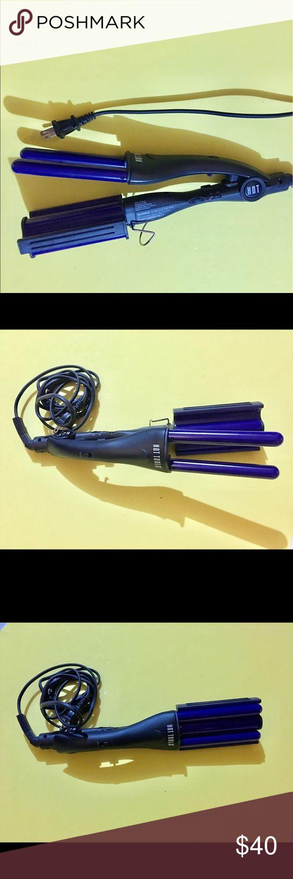 Hot tools deep waver Hot tools purple color deep waver hair tool for deep waves. No box. Works great!! hot tools Other