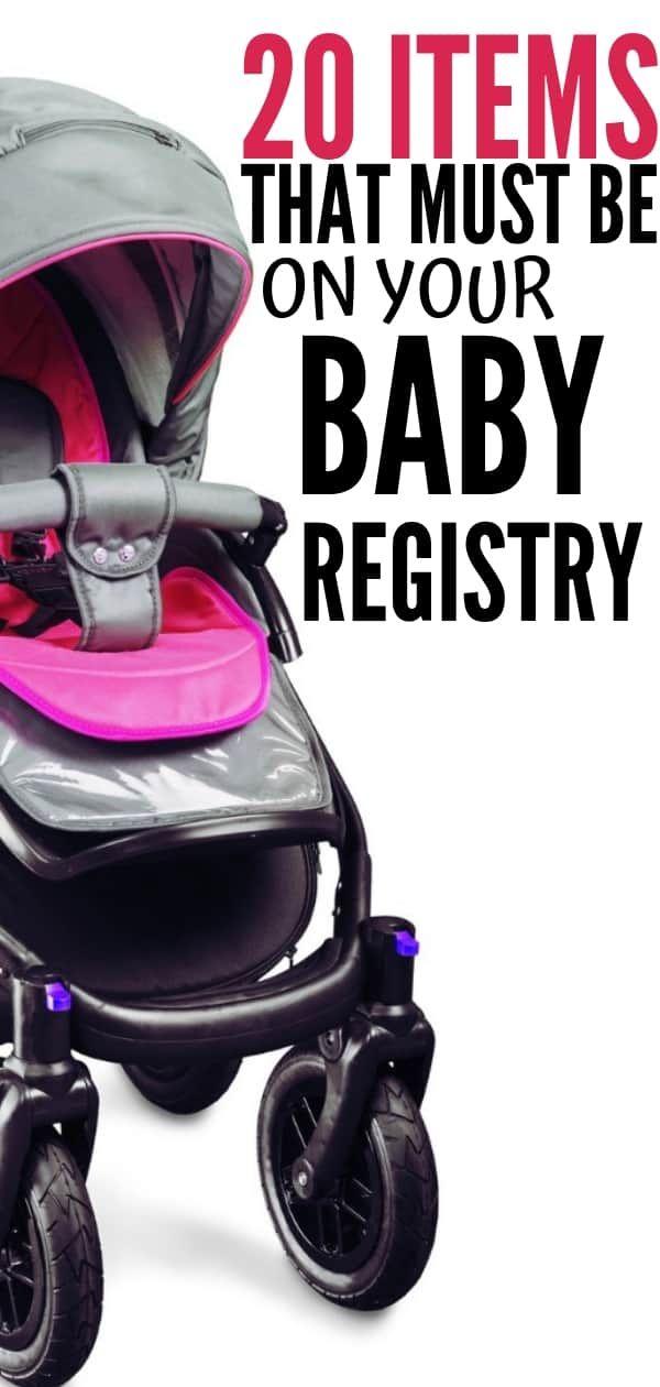 Top 20 baby registry must haves